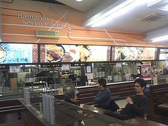 food court of hamanako service area