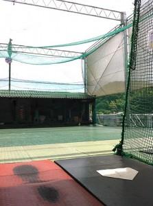 I went to batting center.