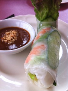 fresh spring roll at PHO Motiti