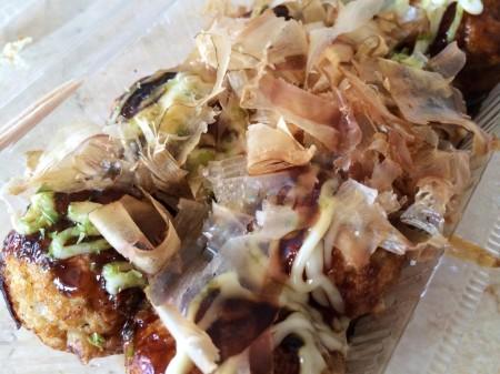 """Tacoyaki(octopus fritters) of """"Futen"""""""