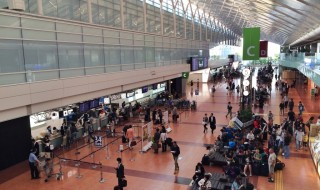 Haneda airport in Japan