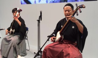 Tsugaru-Jamisen performance