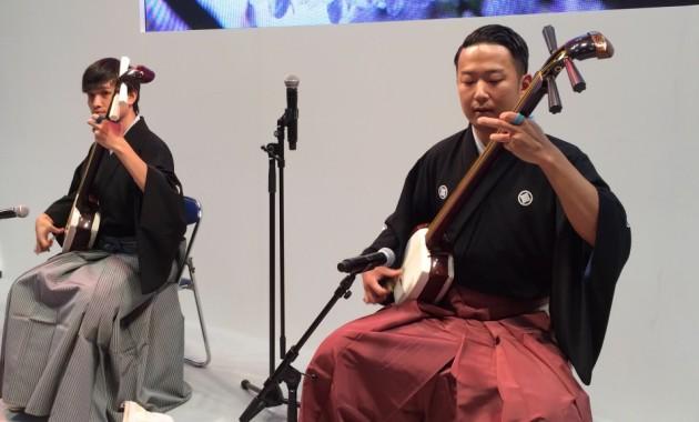Tsugaru-Jamisen performance