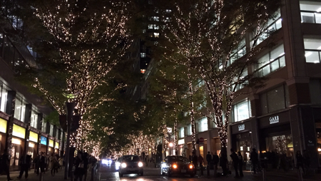illumination at Marunouchi