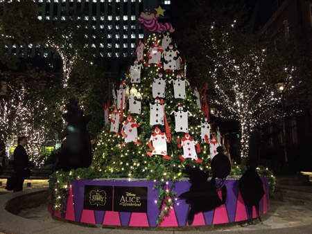 ALICE in Wonderland at Marunouchi Brick Square.