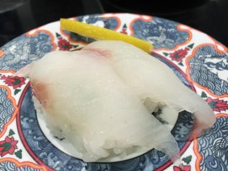 Cornet fish sushi