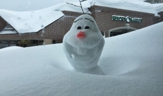 Olaf at Kiroro resort in Hokkaido