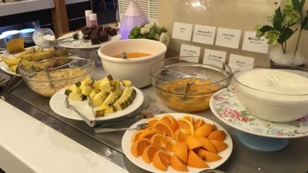 Morning buffet in Kiroro resort