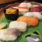 Sushi at Fuga in Kiroro resort