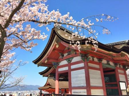 Kyodo-hall in Kiyomizu dera temple