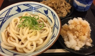 Udon at Marugame Seimen in Japan