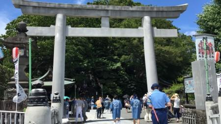 Shinko-sai in Shirahata shrine