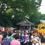 festival at Shirahata shrine