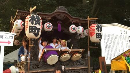 festival at Shirahata shrine