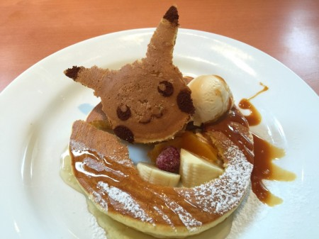 Pikachu lunch for a child at Denny's