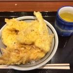 tempura bowl in Marugame Seimen
