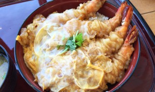 shrimp tempura bowl