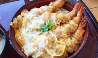 shrimp tempura bowl