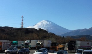 Fujimi Shokudo in Ayuzawa parking area