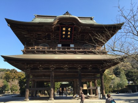 kenchoji temple in Kamakura