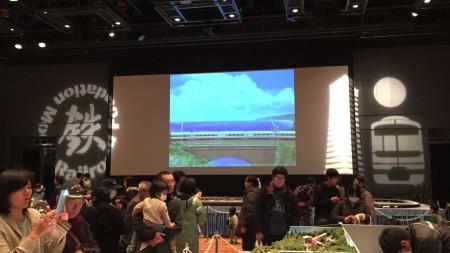 Model train festival in Yokohama