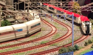 Model train festival in Yokohama