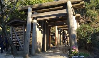 Zeniarai Benten Shrine in Kanakura