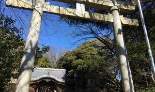 Azuma shrine in Ninomiya