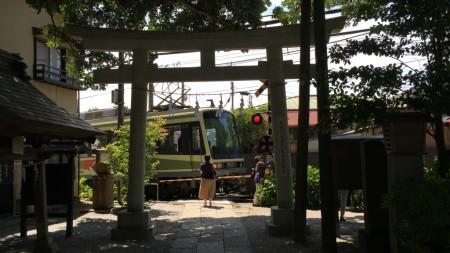 Goryo Jinja shrine in Kamakura