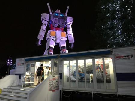 Gundam in Odaiba