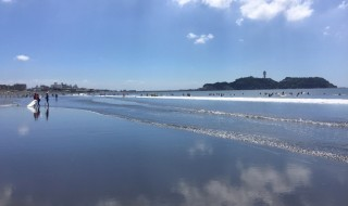 Beach of Enoshima