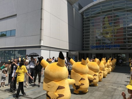 Pikachu parade of  Pikachu Outbreak! 2017