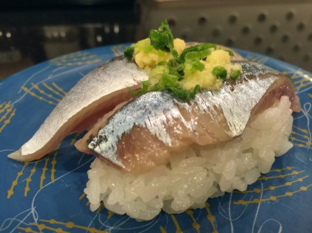 Pacific saury in Gurume Tei