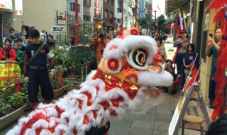 Cai Qing Lion dance Yokohama China Town