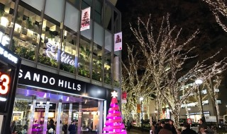 Omotesando illumination 2016