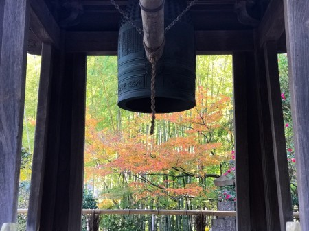 Shoro (the belfry) in houkokuji temple in kamakura