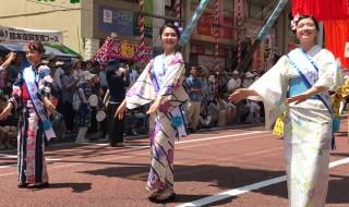 Parade at Hiratsuka Tanabata Festival