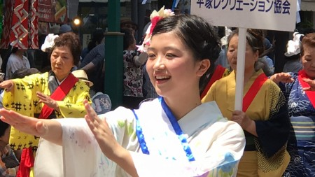 Orihime at Hiratsuka Tanabata Festival