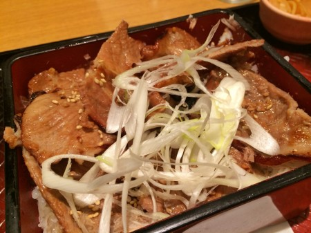 pork cutlets bowl in Ootoya