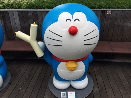 Doraemon Y shaped candle Yロウ