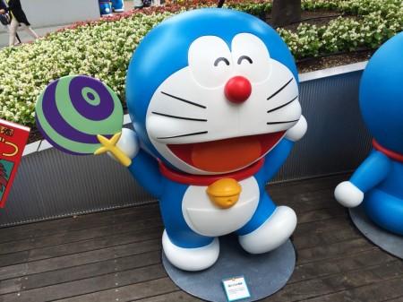 Doraemon Strong paper fan 強力うちわ風神