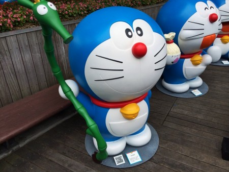 Doraemon ウマタケ High speed bamboo stilts