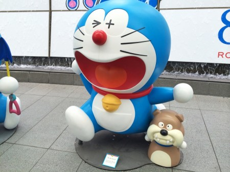 Doraemon Everyone go away dog ゴーゴードッグ