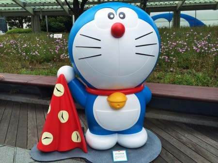 Doraemon Time wrapping cloth タイムふろしき