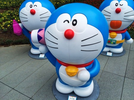Doraemon 糸なし糸電話 Wireless string telephone