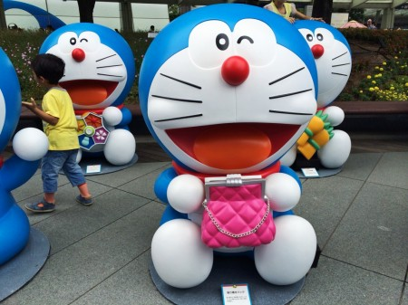 Doraemon Get everything bag 取り寄せバッグ