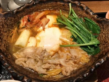 A little spicy pork miso stew at Ootoya
