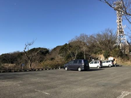 parking lot of Hiroyama park in Zushi