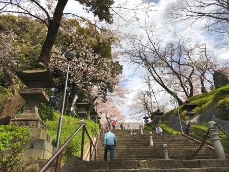 Shikyo Nanji-zaka of Ikegami Honmonji temple