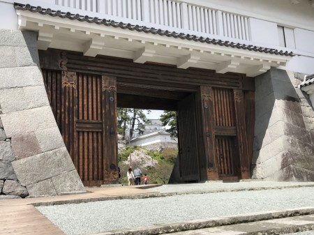 Akagane gate in Odawara castle